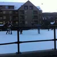Photo taken at Dercum Square Ice Rink by Simon N. on 12/29/2013