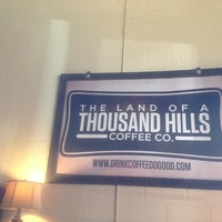 Photo taken at Land of a Thousand Hills Coffee House by Justin G. on 2/19/2013