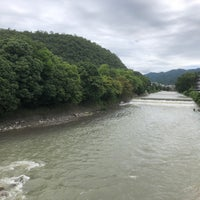Photo taken at 松ヶ崎橋 by 松平大和守 on 7/8/2018