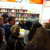 Photo taken at La Feltrinelli by Filippo G. on 3/27/2013