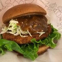 Photo taken at MOS Burger by bska o. on 10/17/2017