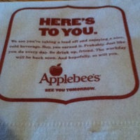 Photo taken at Applebee's Neighborhood Grill & Bar by Hayley M. on 3/9/2013
