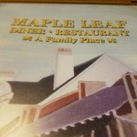 Photo taken at Maple Leaf Diner by Whelan M. on 2/11/2017