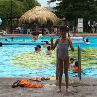 Photo taken at Balneario la Cruz by Martha R. on 5/15/2016