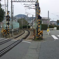 Photo taken at 水道路踏切 by fuji_209 on 3/26/2013