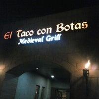 Photo taken at El Taco Con Botas by Weraa W. on 2/9/2013