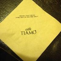 Photo taken at Caffè TIAMO by Haemi T. on 1/18/2014