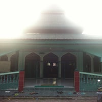 Photo taken at Masjid Habiburrahman by Muhammad N. on 3/1/2013