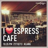 Photo taken at Espress Cafe by Scott K. on 10/27/2013