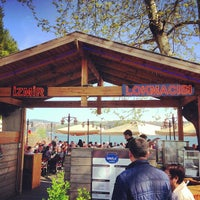 Photo taken at İskele Cafe & İzmir Lokmacısı by Birhan K. on 4/23/2013