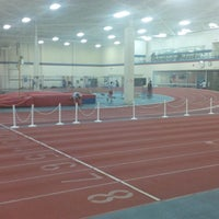 Photo taken at Toronto Track & Field Center by Anson H. on 3/11/2013