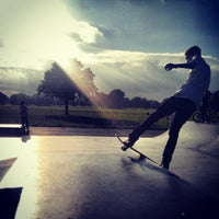 Photo taken at Clapham Skate Park by Patrick B. on 10/15/2013