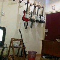 Photo taken at Amp jam studio by Epong P. on 2/12/2013
