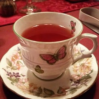Photo taken at Teaberry's Tea Room by Amanda V. on 11/30/2014