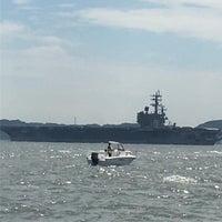 9/3/2016にもりが東京湾要塞 第二海堡跡で撮った写真