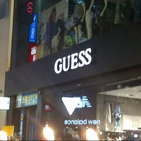 Photo taken at GUESS by Darwin L. on 5/19/2014