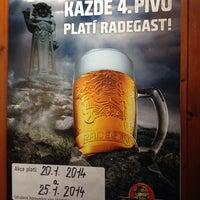 Photo taken at Restaurace U Káňů by Zuzana D. on 1/17/2014