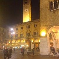 Photo taken at Piazza dei Signori by Fabio P. on 2/12/2013
