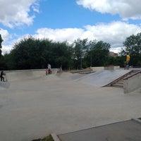 Das Foto wurde bei Скейт-парк «Садовники» von Юлия А. am 6/9/2018 aufgenommen