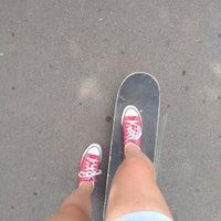 Das Foto wurde bei Скейт-парк «Садовники» von Юлия А. am 7/26/2018 aufgenommen