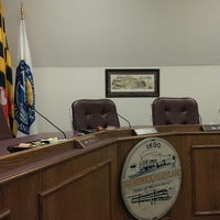 Photo taken at Brunswick City Hall by Timothy R. on 7/29/2013