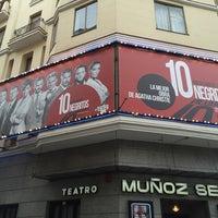 Photo taken at Teatro Muñoz Seca by Pedro P. on 10/11/2014