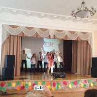 Photo taken at Лицей № 1575 by Victoria G. on 10/4/2013