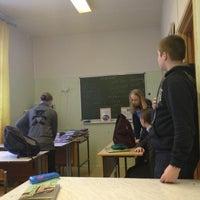 Photo taken at Школа № 49 (новое здание) by Матвей on 2/15/2013