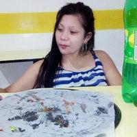 Photo taken at Albertos Pizza by Tajhoy B. on 4/10/2014
