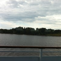 Photo taken at Берег Волги by Viktoriya D. on 8/14/2013