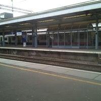Photo taken at Upminster Railway Station (UPM) by dyvroeth on 4/14/2013