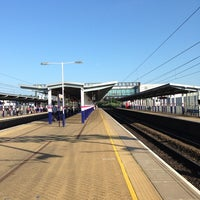 Photo taken at Luton Airport Parkway Railway Station (LTN) by Daniel L. on 7/18/2013