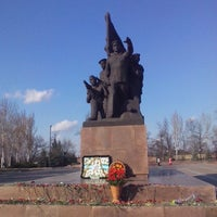 Photo taken at Мемориал Героям Ольшанцам by S.Limanoff on 3/30/2016