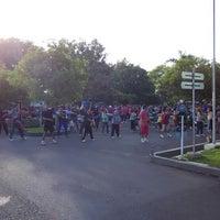 Photo taken at Lapangan Mataram by Prayoga M. on 12/20/2014