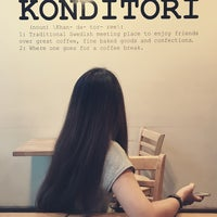 Photo taken at Konditori by Jazzba H. on 9/17/2017