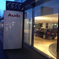 Photo taken at Auto Rossel GmbH | VW Skoda Audi Porsche by Christian K. on 11/21/2013