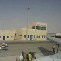 Photo taken at Marmul Airport (OMM) by faisal b. on 3/12/2013
