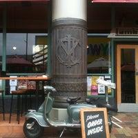 Photo taken at Lambretta's Cafe & Bar by Kieron N. on 2/10/2013