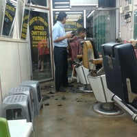 Photo taken at GEORGE EDWIN HAIR DRESSING SALOON by Azeley Y. on 10/24/2013