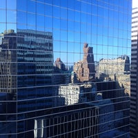 Photo taken at DoubleTree by Hilton Hotel New York City - Financial District by Anton K. on 4/6/2013
