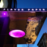 Photo taken at Flavor Paper by April N. on 2/18/2014