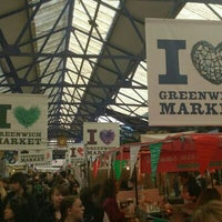Photo taken at Greenwich Market by Kevin W. on 4/20/2013
