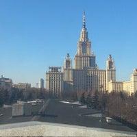 Photo taken at Юридический факультет МГУ by Erkin A. on 3/13/2013