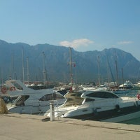 Photo taken at Kemer Türkiz Marina by Sefa E. on 4/23/2013