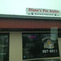 Photo taken at Dianes Pet Styles by Mandy A. on 3/22/2013