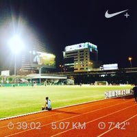 Photo taken at Sports Authority of Thailand by Chinna K. on 4/28/2017