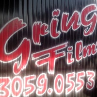 Photo taken at Gringo Film's by Luiz J. on 5/2/2013