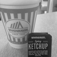 Photo taken at Whatabuger by Strawberry on 10/14/2014