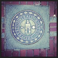 Foto tirada no(a) The Freedom Trail por Justin G. em 4/5/2013