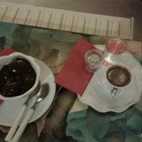 Photo taken at Çikolata Cafe by Emine G. on 3/8/2013